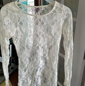 Tops - Sheer lace shirt bundle